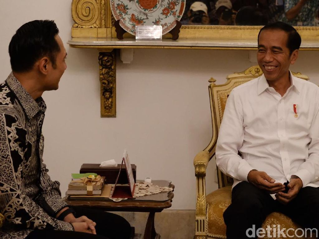 Temui Jokowi, AHY: Kita Harus Jadi Bagian Besar Wujudkan RI Semakin Baik