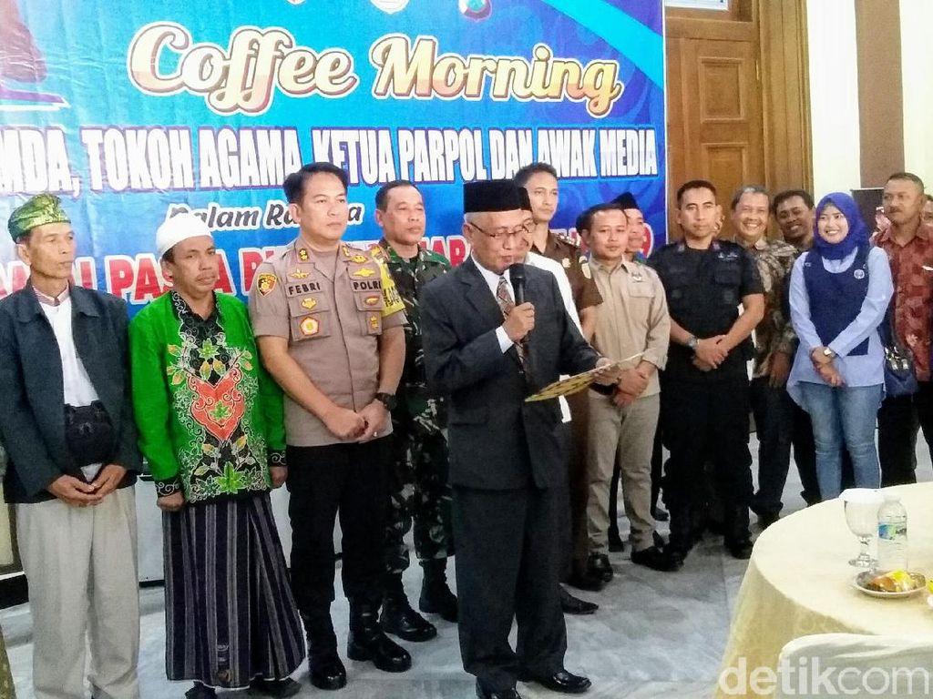 Tokoh Lintas Agama Berkumpul di Polres Bondowoso Pasca Rekapitulasi