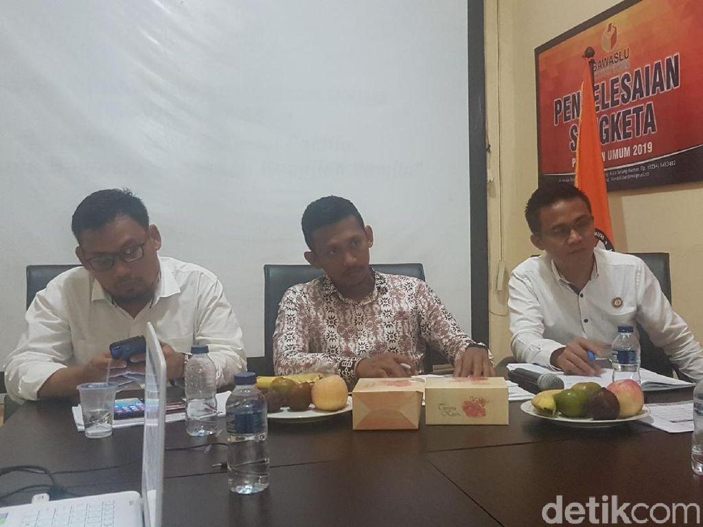 Coblos Surat Suara di 2 TPS, 5 KPPS di Banten Berpotensi Jadi Tersangka