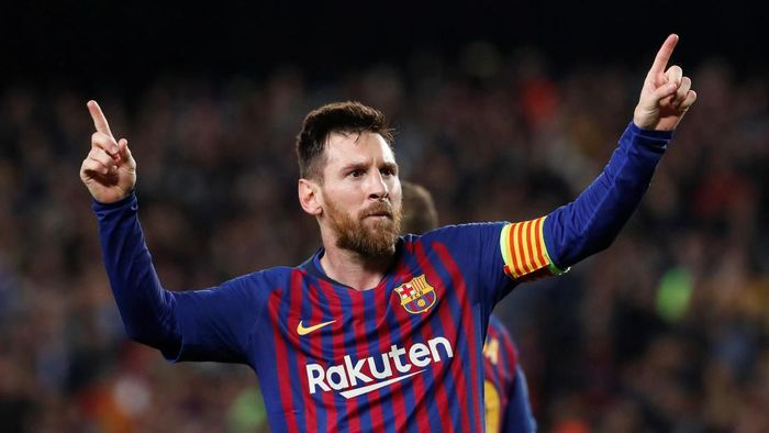 Lionel Messi menjadi atlet terkaya tahun ini. (Foto: Susana Vera / Reuters)