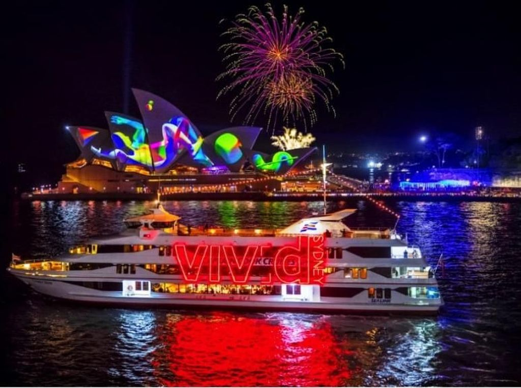 Spot Instalasi Cahaya Paling Instagramable di Vivid Sydney