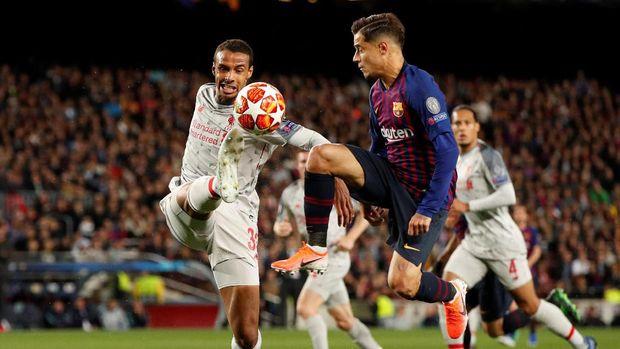 Kekalahan 0-3 dari Barcelona memberatkan langkah Liverpool ke final Liga Champions.