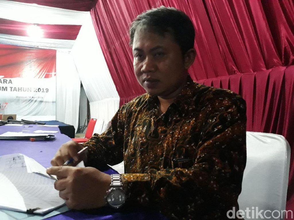 Rekap di KPU Gunungkidul Rampung, Jokowi Ungguli Prabowo