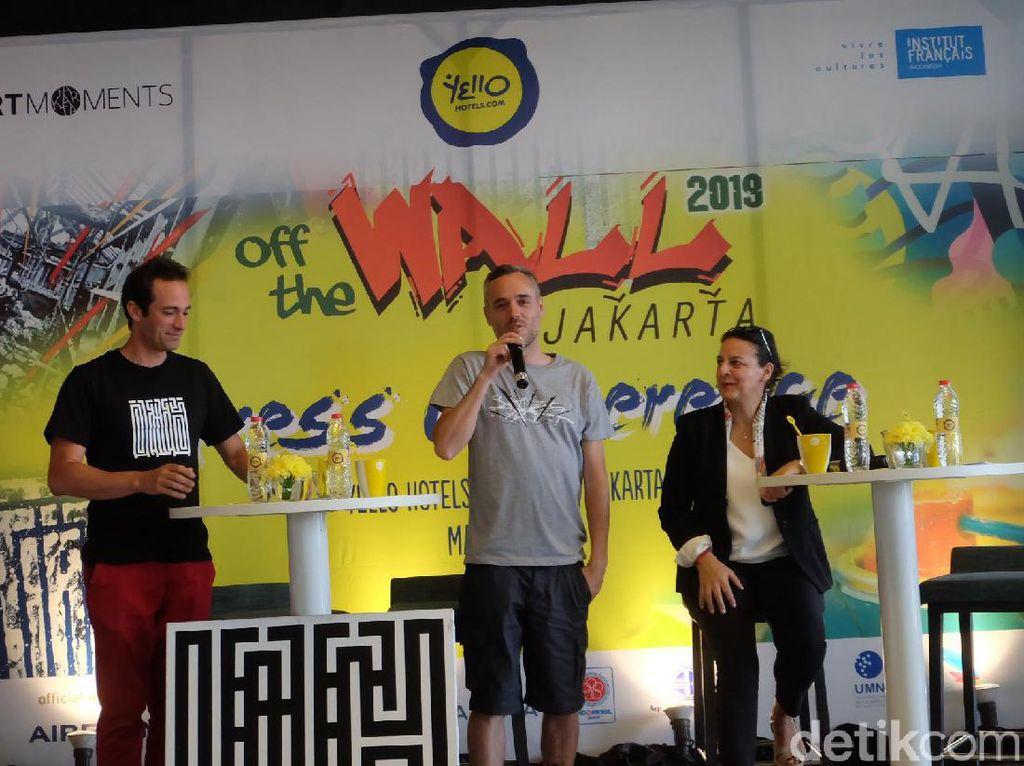 Gandeng 4 Seniman, Off the Wall Jakarta 2019 Lebih Meriah