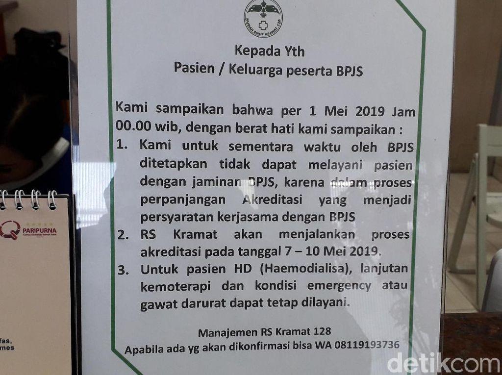 Akreditasi Habis, RS Putus Kontrak Lagi dengan BPJS Kesehatan