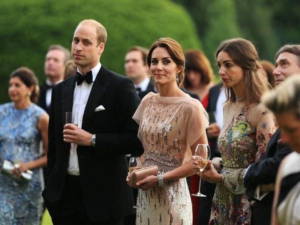 Gemar Makan Steak, Ini Rose Hanbury Teman Dekat Pangeran William