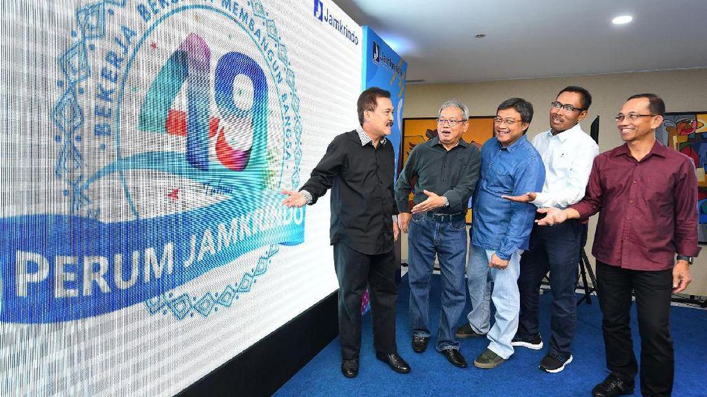 Jamkrindo Kenalkan Logo HUT Ke- 49 Tahun