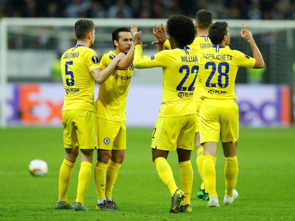 Chelsea Ukir Rekor di Liga Europa Usai Imbang Lawan Frankfurt