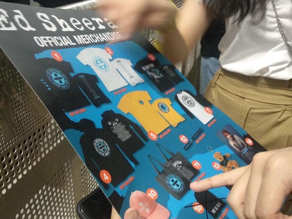 Totebag Resmi Konser Ed Sheeran Laris Manis Terjual