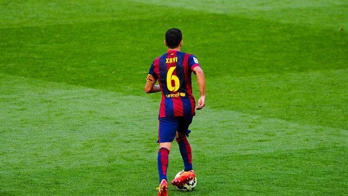 Xavi Hernandez pensiun akhir musim ini (David Ramos/Getty Images)