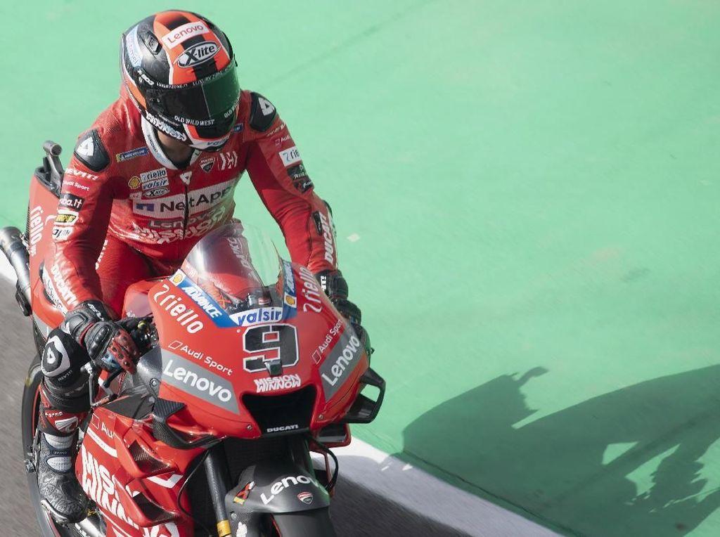 Juara Sudah, Target Petrucci di MotoGP Catalunya Tetap Podium