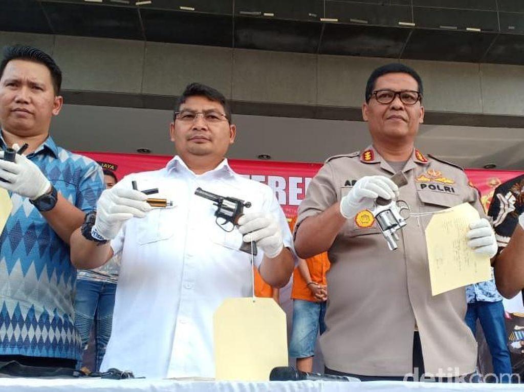 Komplotan Pencuri Motor di Tangerang Ditangkap, 1 Pelaku Ditembak Mati
