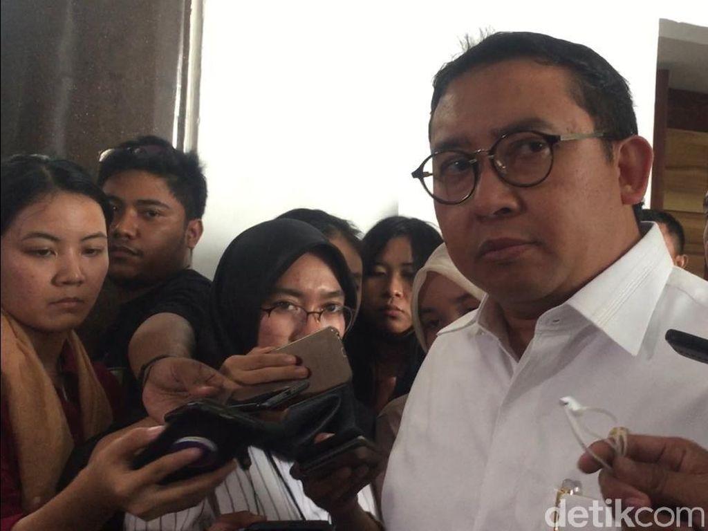 Ragukan Ada Rencana Pembunuhan ke 4 Pejabat, Fadli: Jangan Lebay!