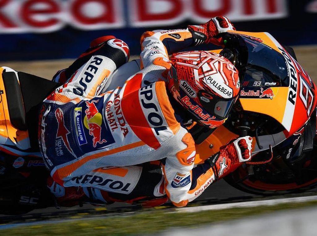 Free Practice I MotoGP Spanyol: Marquez Tercepat, Lorenzo Kedua
