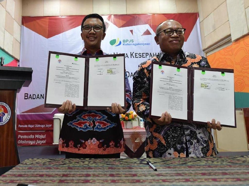 Atlet dan Ofisial Indonesia Dilindungi BPJS Ketenagakerjaan