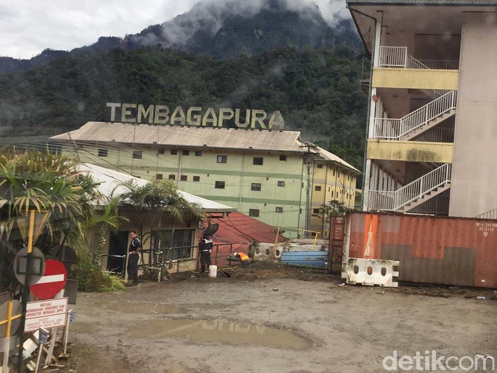 124 Pekerja Freeport di Papua Positif Corona, 2 Orang Meninggal