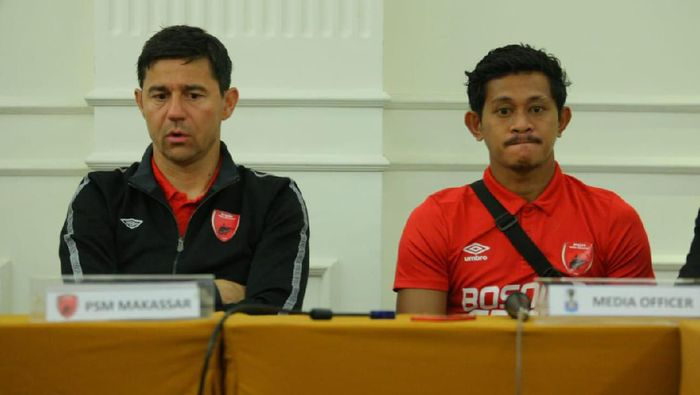 PSM Makassar akan menjamu Bhayangkara FC di leg kedua perempatfinal Piala Indonesi (Foto: Reinhard Soplantila)