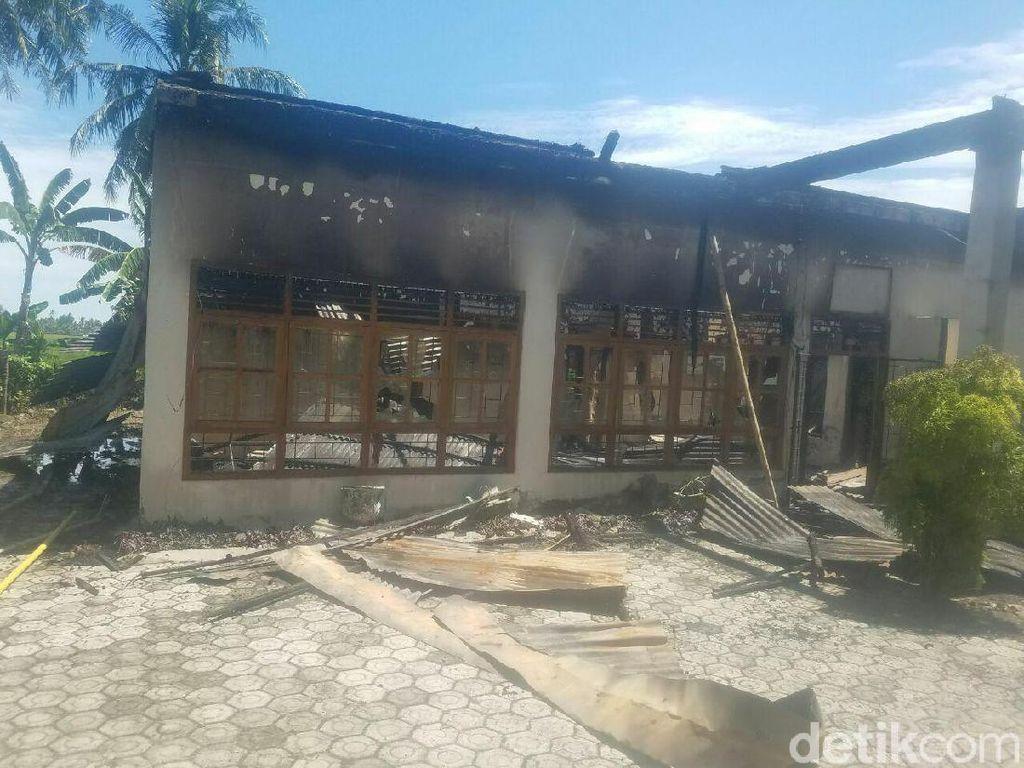 Pembakar Kantor Desa karena Masalah AJB Jadi Tersangka