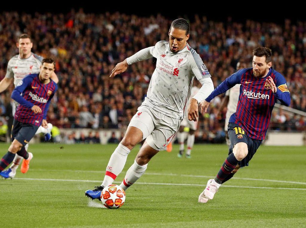 Van Dijk: Untung Gak Ketemu Messi Setiap Musim