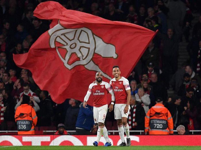 Arsenal dan Pierre-Emerick Aubameyang mempunyai catatan bagus menatap duel dengan Burnley di Liga Inggris. (Foto: Justin Setterfield/Getty Images)