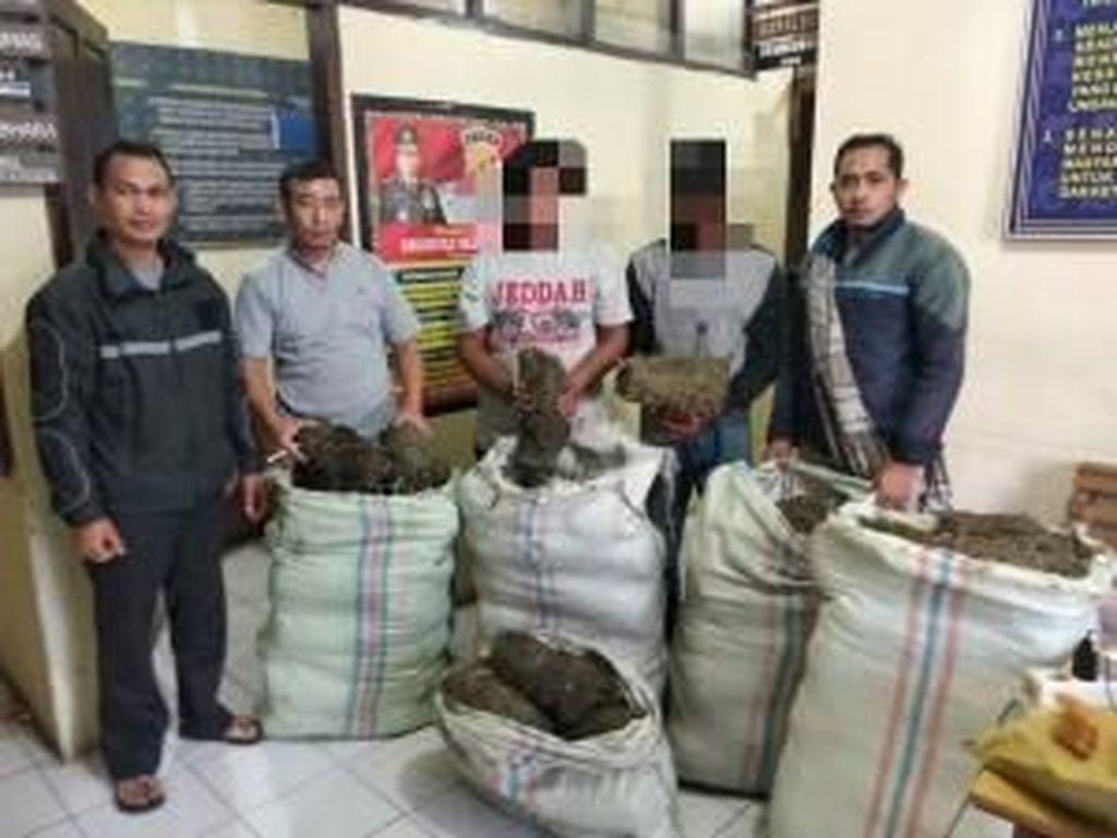 Warga Aceh Tangkap 2 Pria Pemilik 100 Kg Ganja