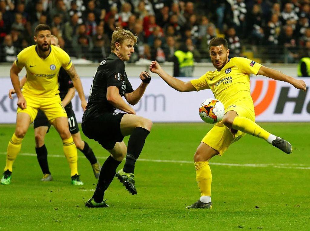 Hasil Liga Europa: Chelsea Imbang 1-1 di Markas Frankfurt
