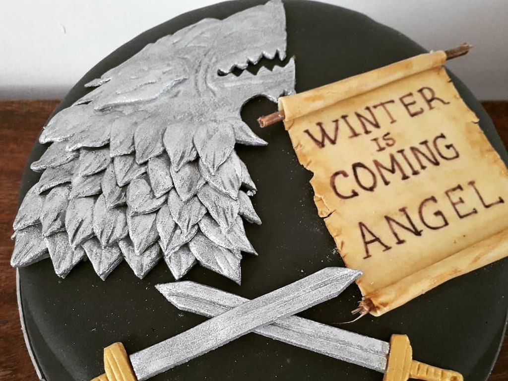 Heboh Episode Baru, Baker Ramai-ramai Bikin Cake Game Of Thrones