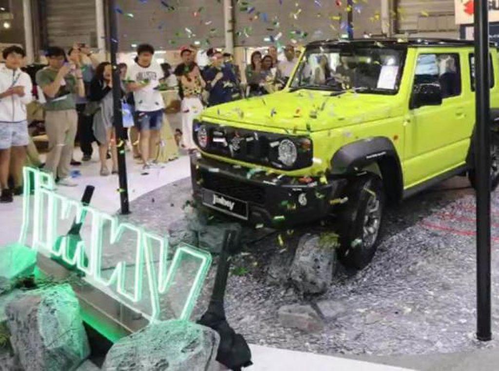 Gokil! Suzuki Singapura Jual Jimny Rp 1,2 Miliar