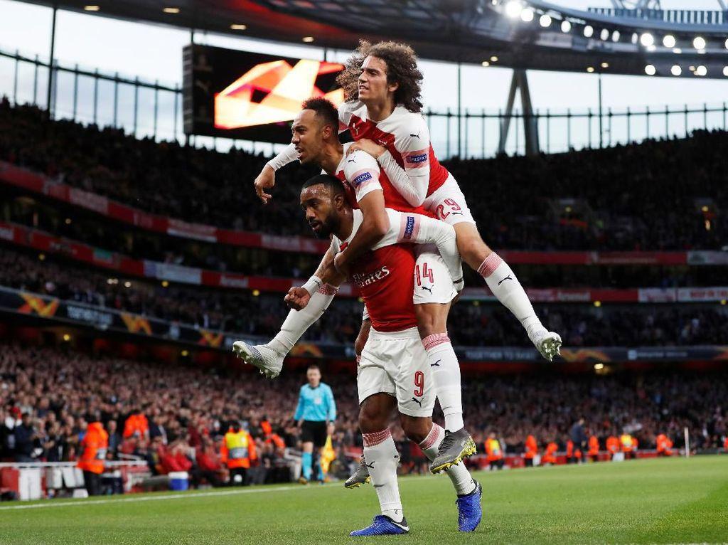 Menuju Final Liga Europa 2019: Arsenal Melaju Kencang ke Baku