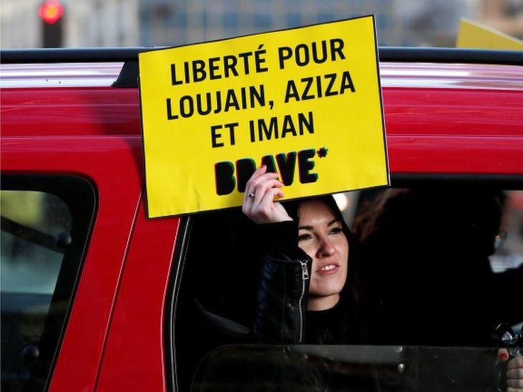 Arab Saudi Bebaskan Sementara 4 Aktivis Perempuan