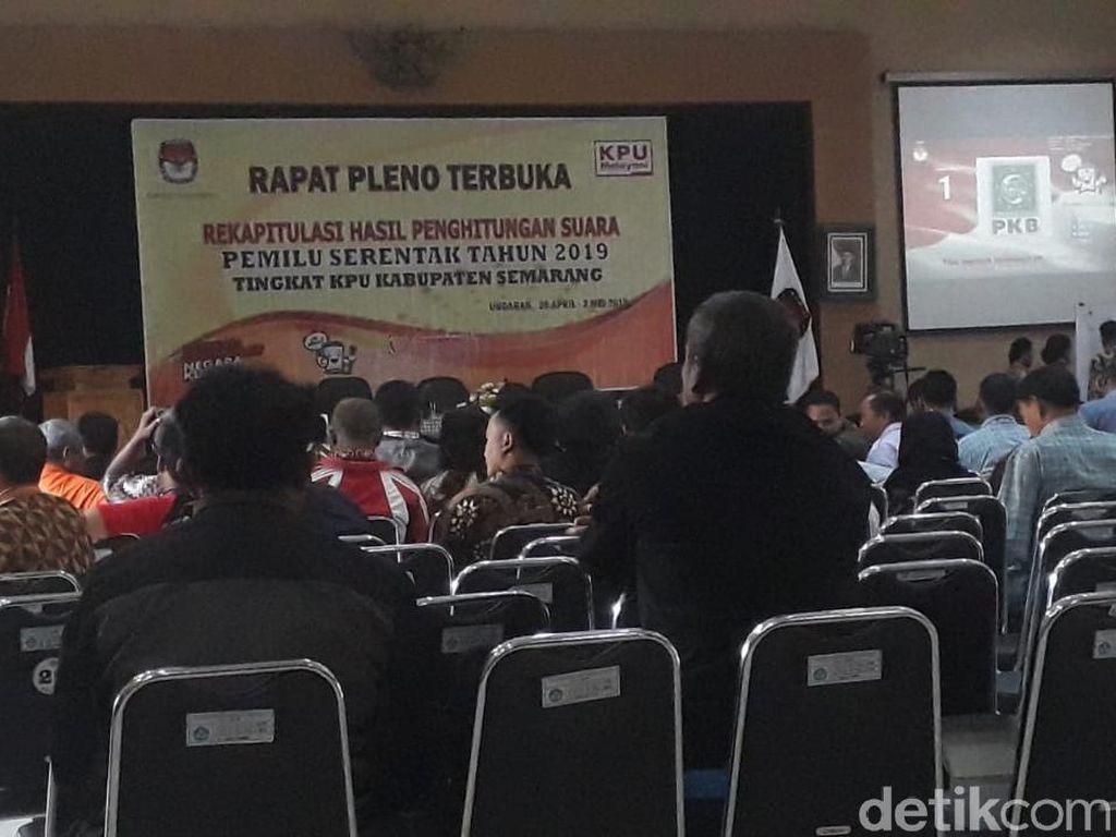 Hasil Rekap KPU Kab Semarang, Jokowi Unggul Kantongi 81% Suara