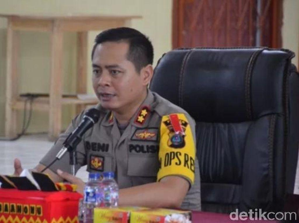 Polisi Masih Selidiki Penyebab Gudang Kotak Suara di Gunungsitoli Terbakar