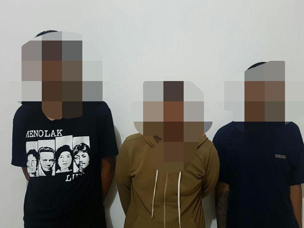 3 Pengedar Tembakau Gorilla Online di Makassar Ditangkap