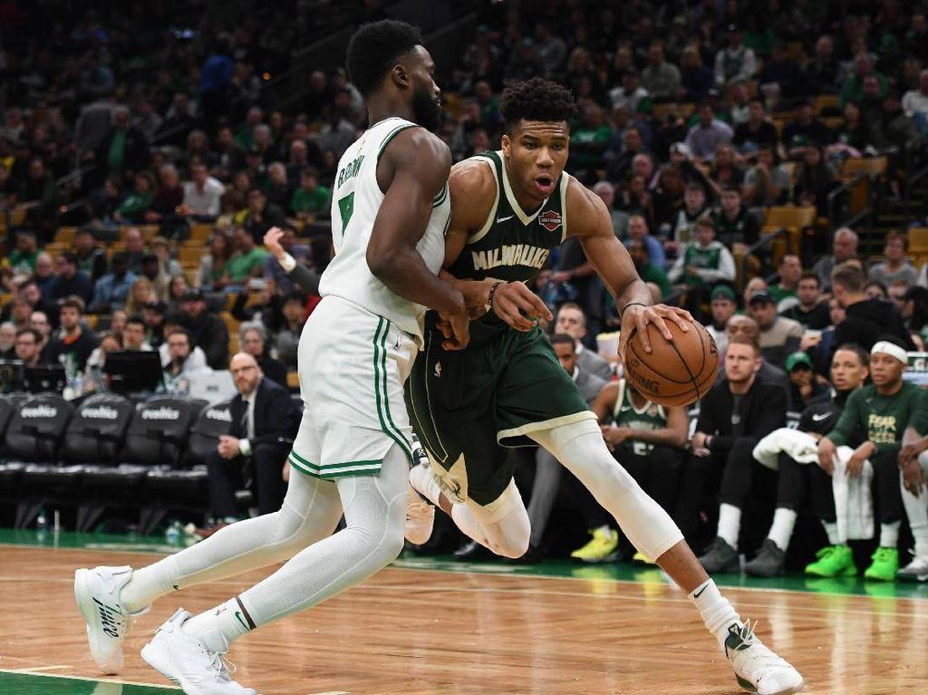 Hasil NBA: Kalahkan Celtics, Bucks Unggul 2-1