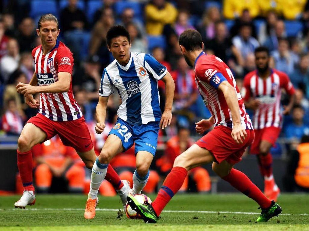 Hasil Liga Spanyol: Atletico Dihajar Espanyol 0-3