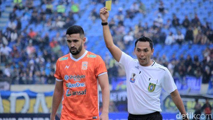 Borneo FC kalah tapi lolos semifinal Piala Indonesia. (Wisma Putra/detikSport)