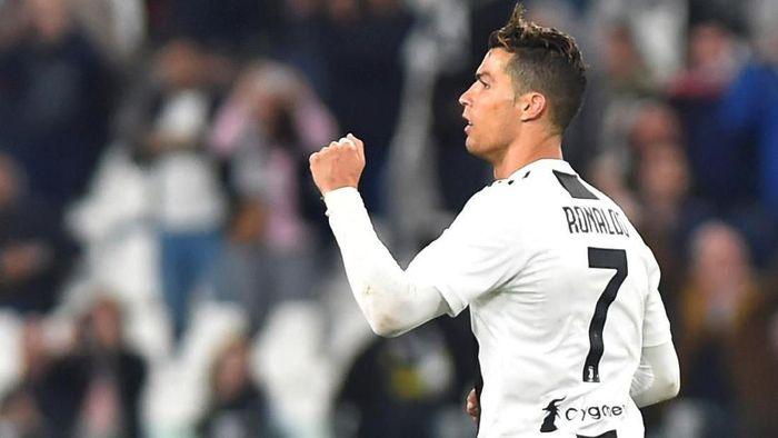 Cristiano Ronaldo jadi pemain pertama yang juara di Inggris, Spanyol, dan Italia. (Foto: Massimo Pinca/Reuters)