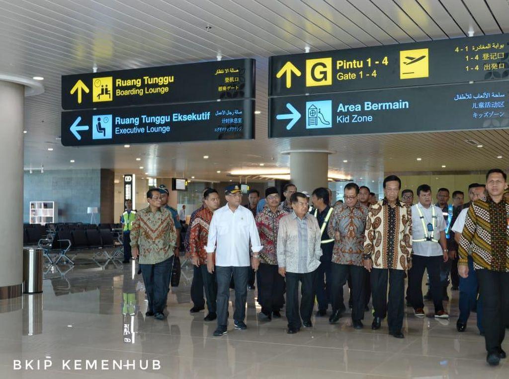 Kunjungi Bandara Baru DIY, JK: Bagus!