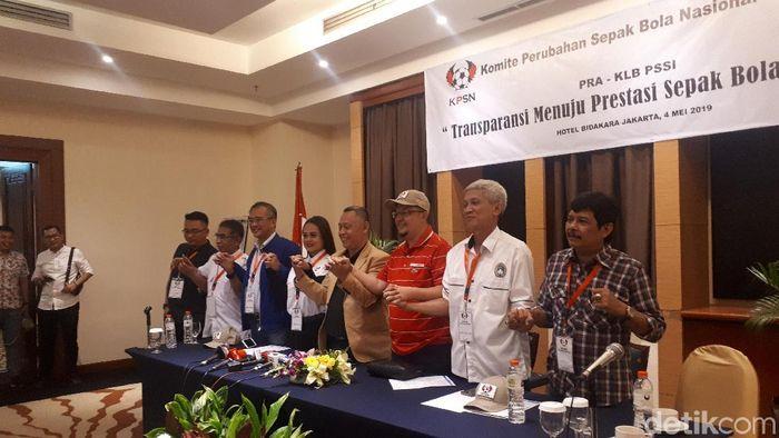 KPSN dan Viters, Sabtu (4/5/2019) di Hotel Bidakara (Mercy Raya/detikSport)