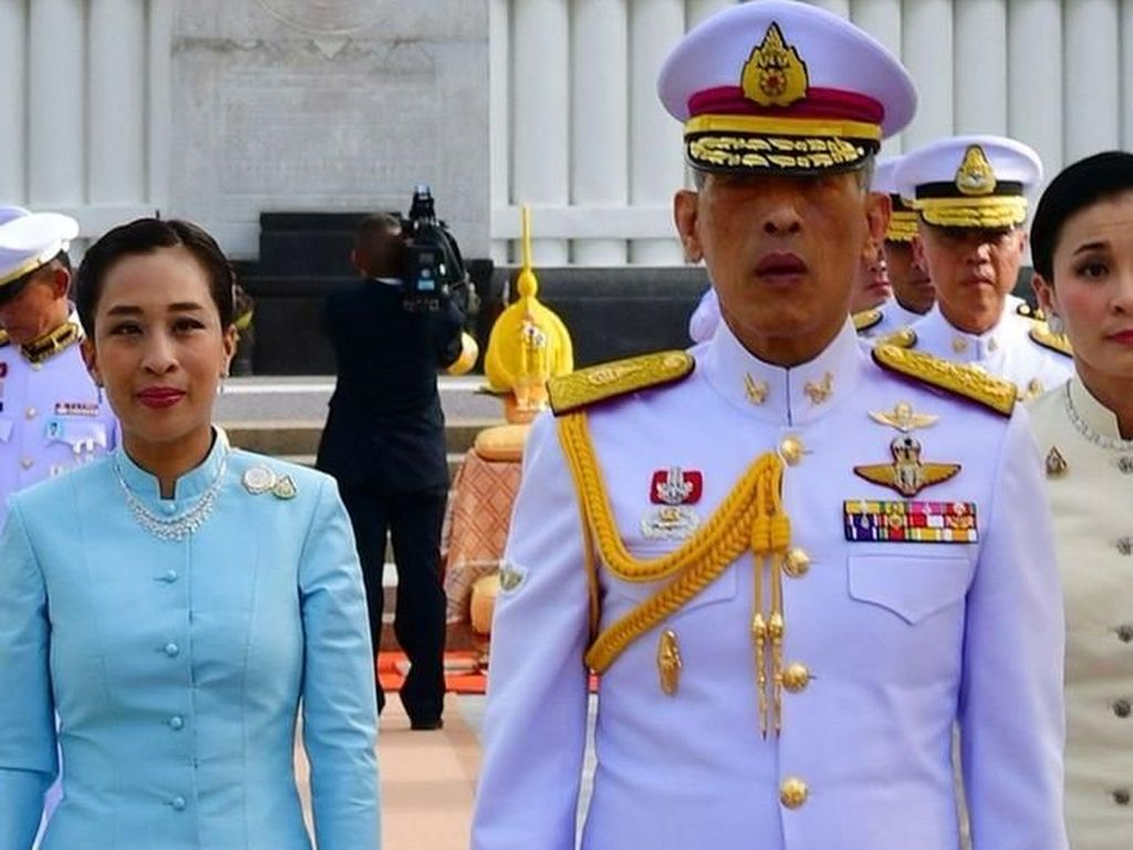 Demonstran Thailand Ajukan Petisi ke Jerman Soal Raja Vajiralongkorn