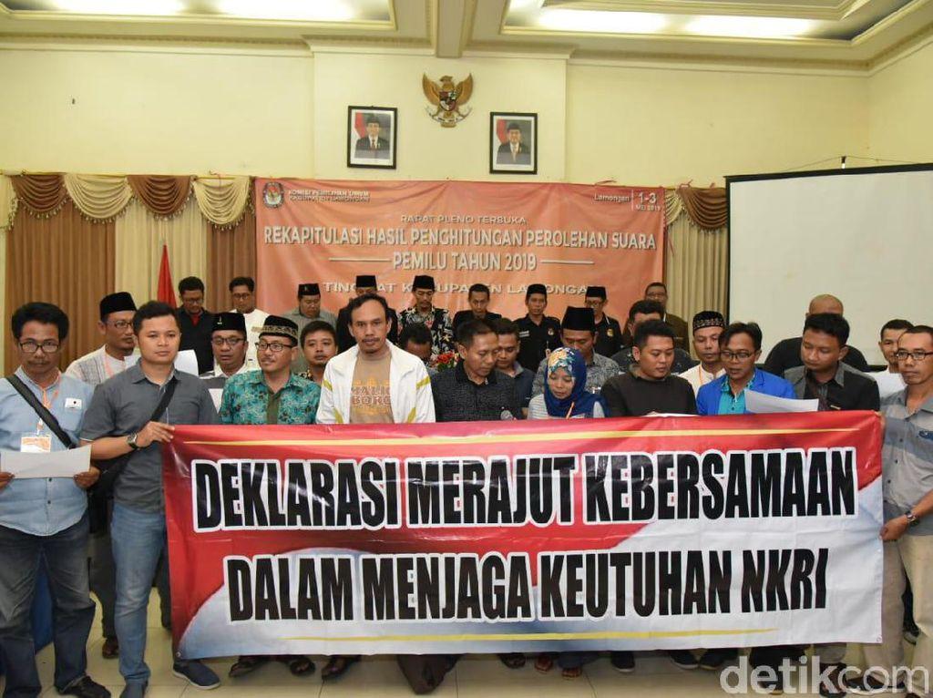 Jokowi Balikkan Suara Prabowo di Lamongan, Unggul Hingga 65%