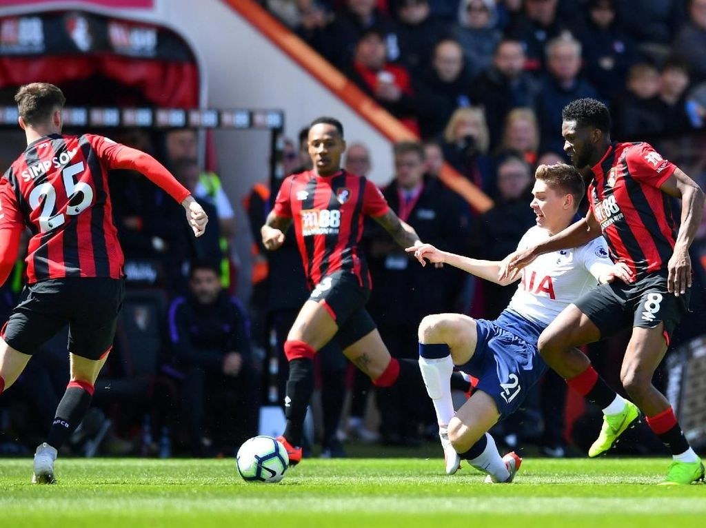 8 Fakta Duel Bournemouth vs Tottenham
