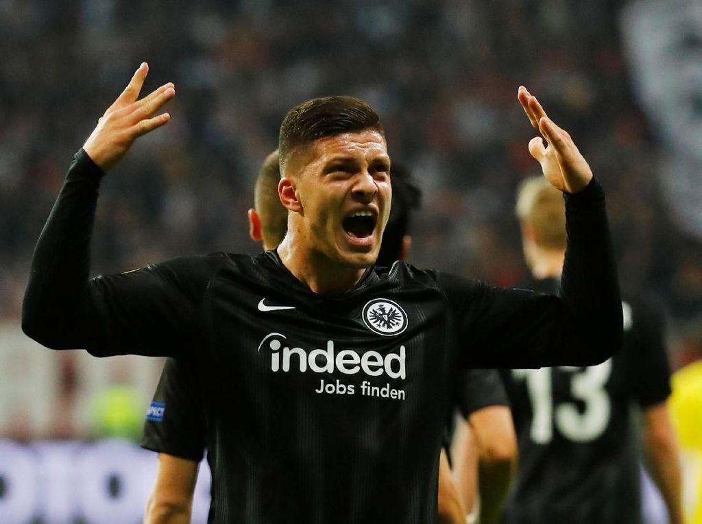 Andai Gabung Madrid, Luka Jovic Bakal Makin Mematikan