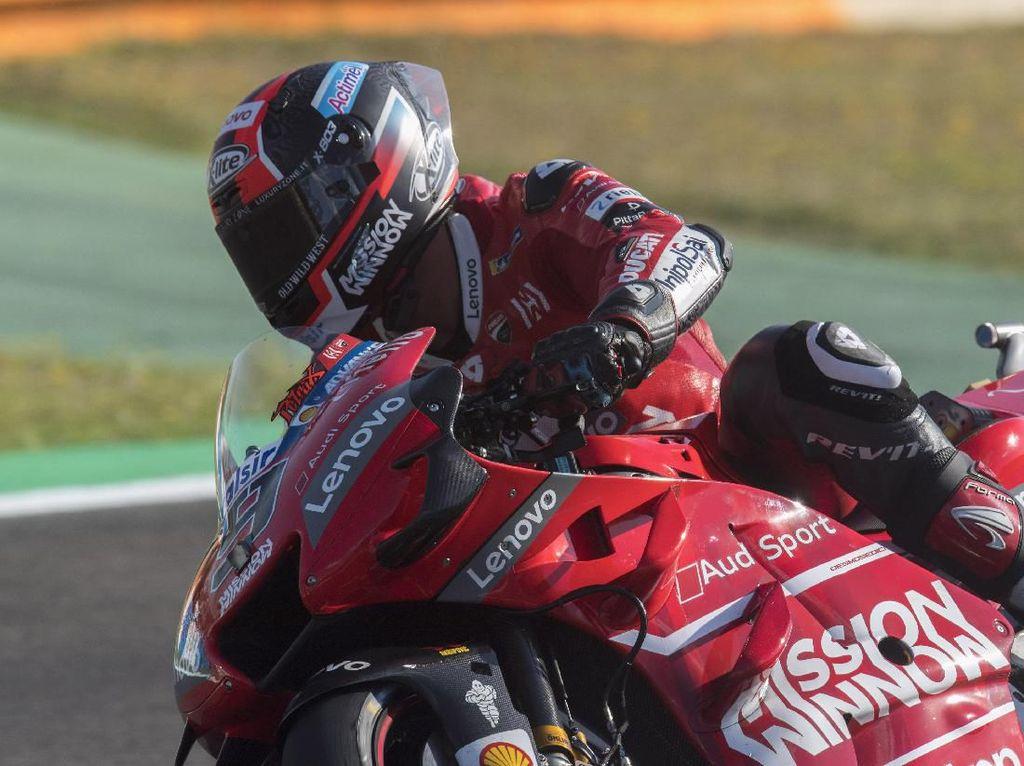 Petrucci Kuasai Sesi Latihan Bebas Ketiga MotoGP Spanyol