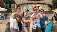 Jadi Pemenang #JalanBarengGrab, Rodny Liburan Bareng Luna & Daniel
