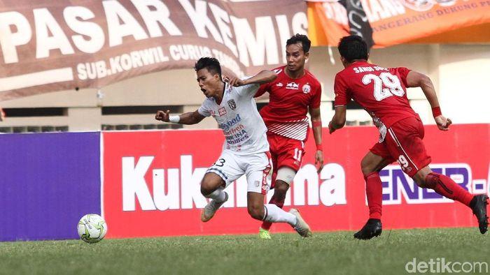Persija Jakarta memetik kemenangan atas Bali United 1-0. (Foto: Rifkianto Nugroho/Detikcom)