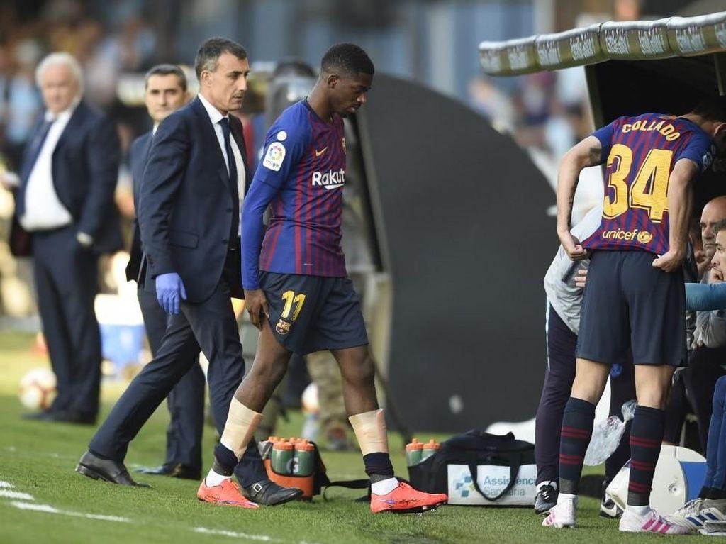 Dembele Cedera, Valverde Harus Ubah Rencana Lawan Liverpool