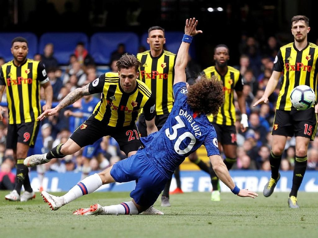 Babak I, Chelsea Ditahan Watford Tanpa Gol
