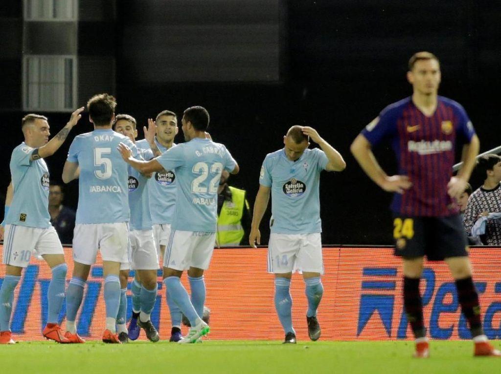 Hasil Liga Spanyol: Barcelona Takluk di Markas Celta Vigo