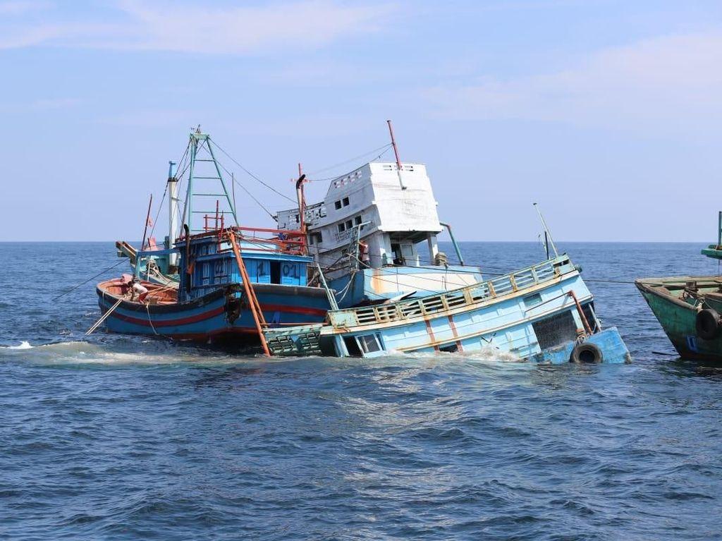 Kapan Kapal Maling Ikan Sitaan Diserahkan ke Nelayan?
